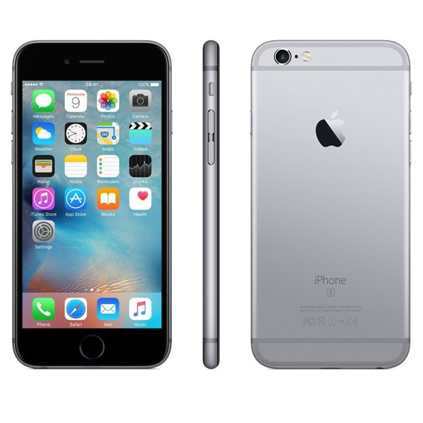 apple iphone 6s 128gb space grau ohne simlock. Black Bedroom Furniture Sets. Home Design Ideas