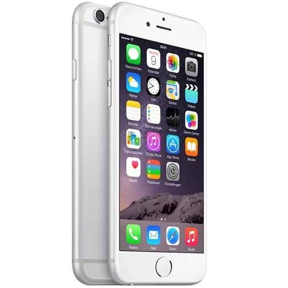 apple iphone 6 16gb silber 1 jahr gew hrleistung ebay. Black Bedroom Furniture Sets. Home Design Ideas