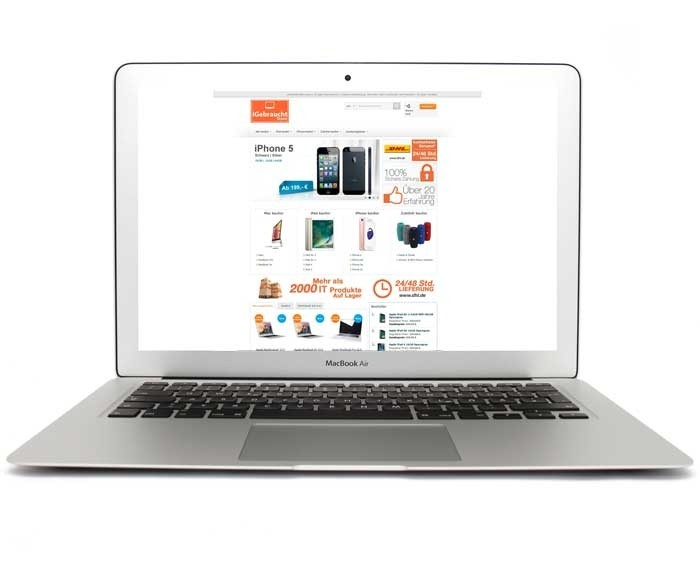 apple macbook air 13 3 zoll laptop md760ll a. Black Bedroom Furniture Sets. Home Design Ideas