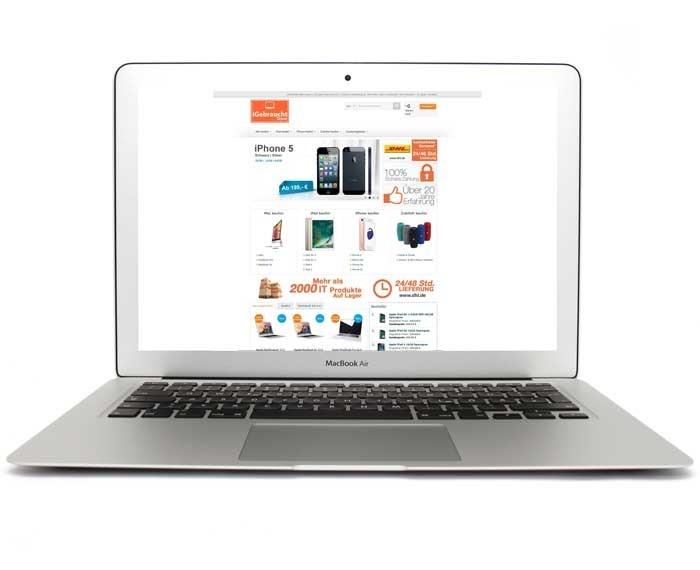 apple macbook air 11 6 zoll laptop md711d a. Black Bedroom Furniture Sets. Home Design Ideas