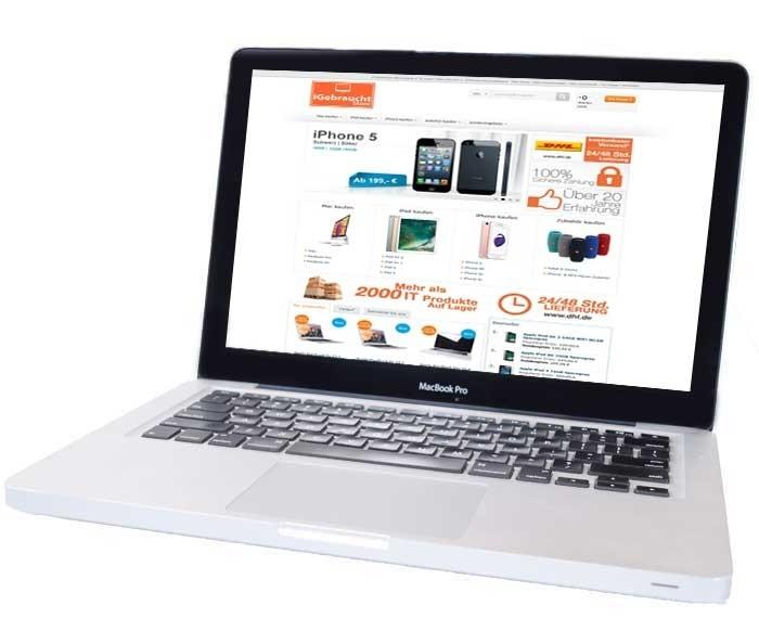 apple macbook pro 33 8 cm 13 3 zoll laptop md101d a juni 2012 refurbished. Black Bedroom Furniture Sets. Home Design Ideas