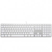 Apple Tastatur A1243 US QWERTY Tastatur, Ziffernblock